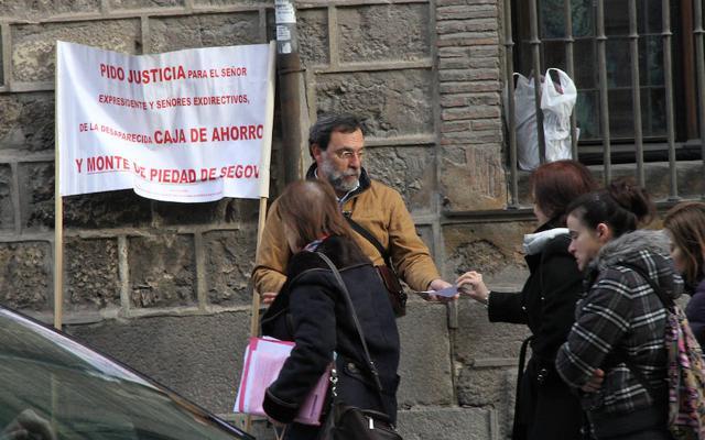 Caja Segovia: 51 millones antes del día 26 o embargo de bienes de la excúpula
