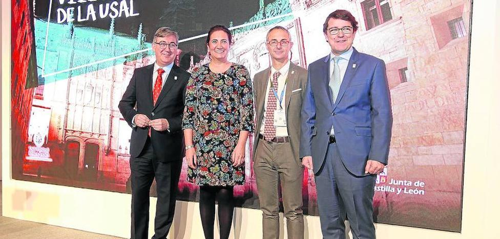 Junta, Ayuntamiento y Rectorado se unen para reforzar la imagen internacional de la USAL