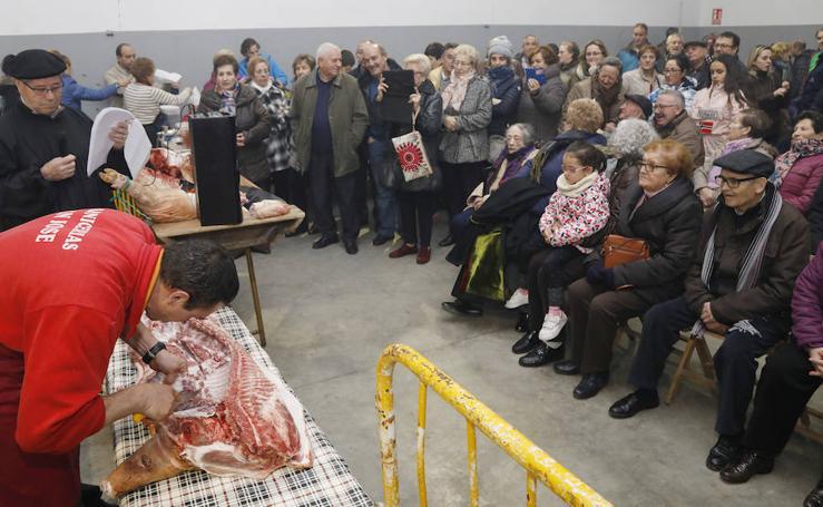 Fiesta de la matanza del cerdo en Autilla del Pino