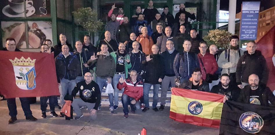 Agentes salmantinos de las Fuerzas de Seguridad viajan a Barcelona «por la equiparación salarial»