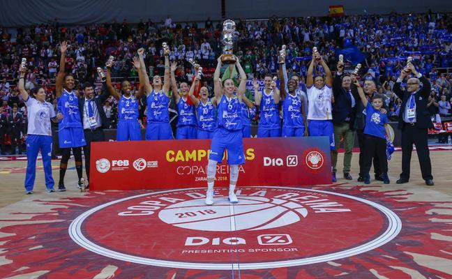 El Perfumerías Avenida de Salamanca conquista su séptima Copa de la Reina