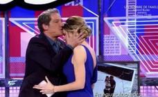 Un beso en la frente certifica la relación entre Gustavo González y María Lapiedra
