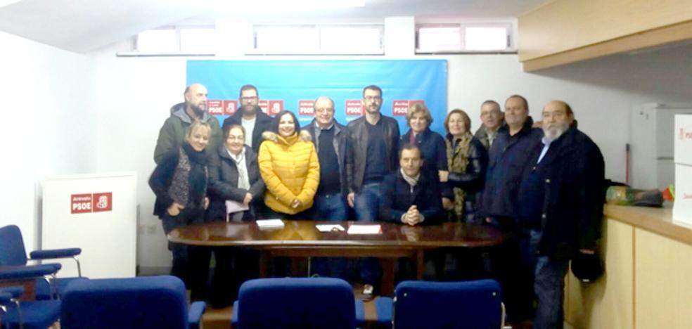 Rodrigo Romo repite como secretario general de la Agrupación del PSOE de Arévalo