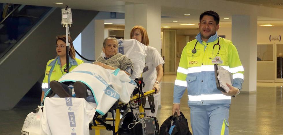 Desde Menorca a Valladolid en avión-ambulancia para salvar la vida