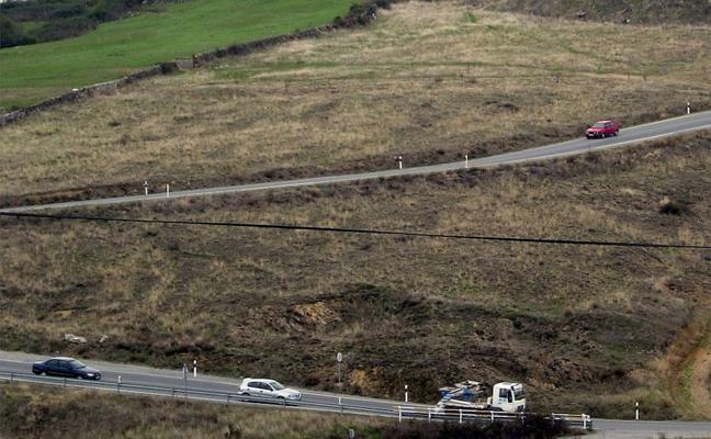 Reabre al tráfico la carretera de Palazuelos tras una colisión entre dos vehículos