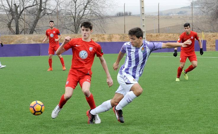 Real Valladolid Juvenil 3 - 1 Santa Marta