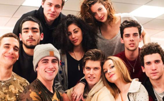 Netflix presenta a los actores de 'Élite'