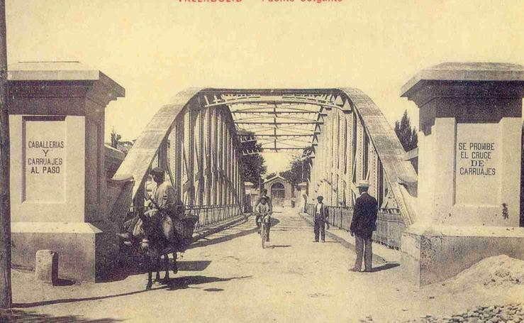 El Puente Colgante de Valladolid, el segundo más antiguo de la ciudad