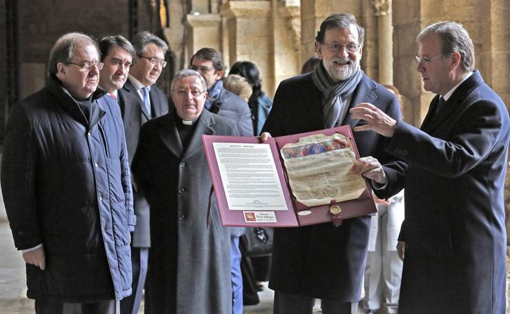 Mariano Rajoy visita León