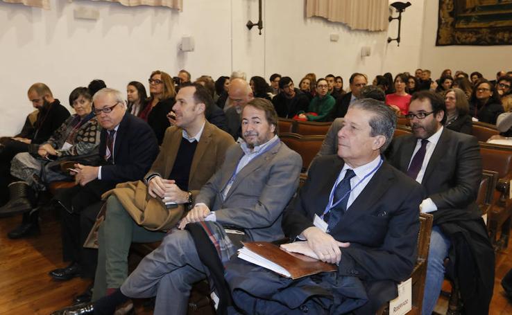 Inaguración del Congreso sobre Patrimonio en la Universidad de Salamanca