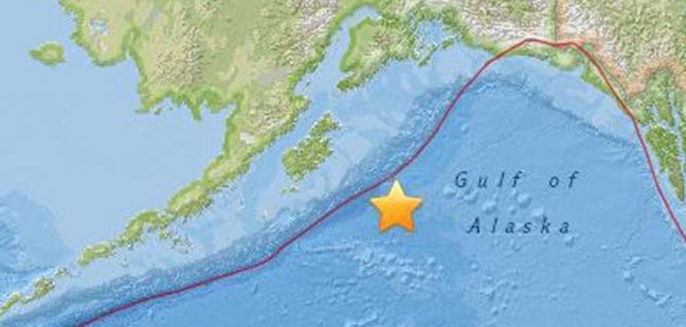 Cancelada la alerta de tsunami en Alaska tras un terremoto de 7,9