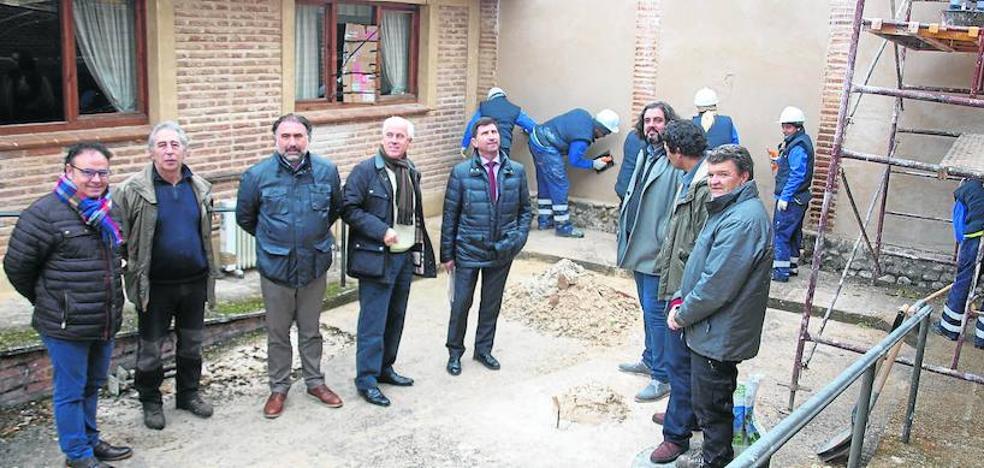 El cementerio antiguo de Saldaña se recupera como espacio de ocio