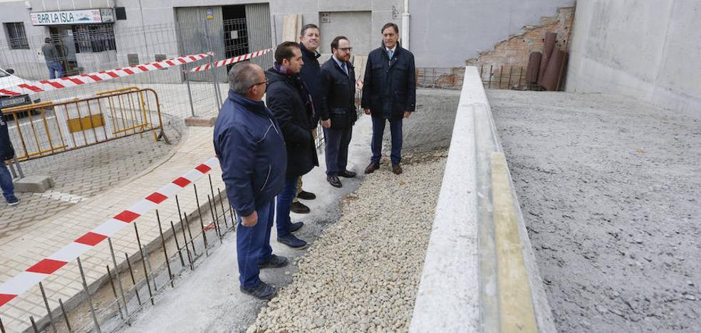Nueva actuación municipal en el Barrio Blanco para mejorar la accesibilidad en la zona