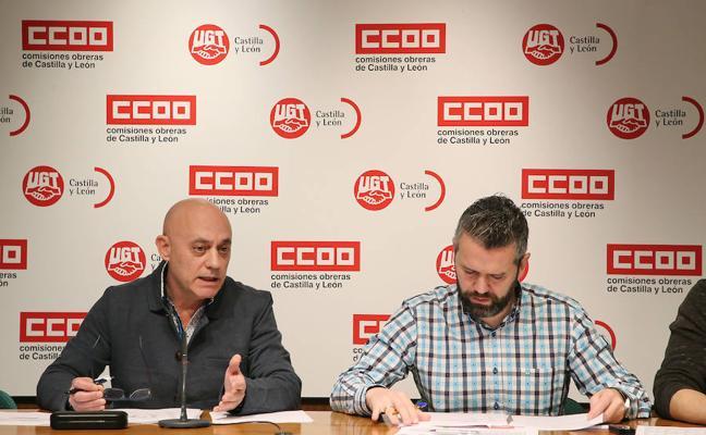 Los sindicatos exigen a la patronal un alza salarial en los convenios colectivos