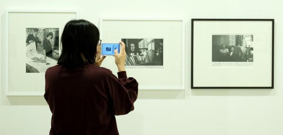 El Patio Herreriano custodia hasta abril un centenar de fotografías de la galería Howard Greenberg