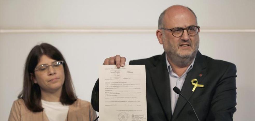 Junts per Catalunya acusa al Gobierno de perpetrar un «golpe de Estado»