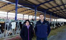 Dos granjas Danone en Segovia