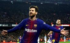 Messi quiere la cuarta consecutiva para el Barça
