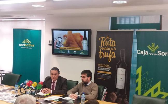 Caja Rural y Bodegas Castillejo de Robledo organizan la quinta edición de la Ruta Dorada de la Trufa