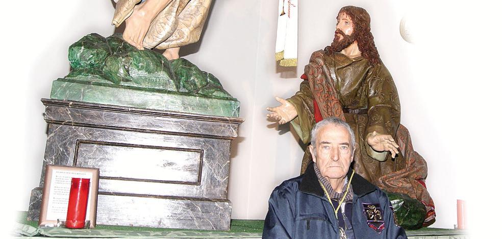 La Oración del Huerto procesionará con el paso de Andrés de Solanes