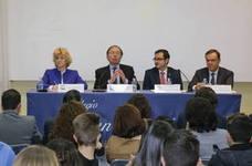 Esperanza Aguirre ySuárezIllana disertarán en el Colegio San Agustín