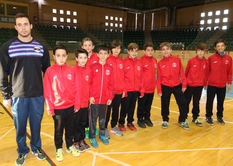 Presentación de los equipos del Club Segosala
