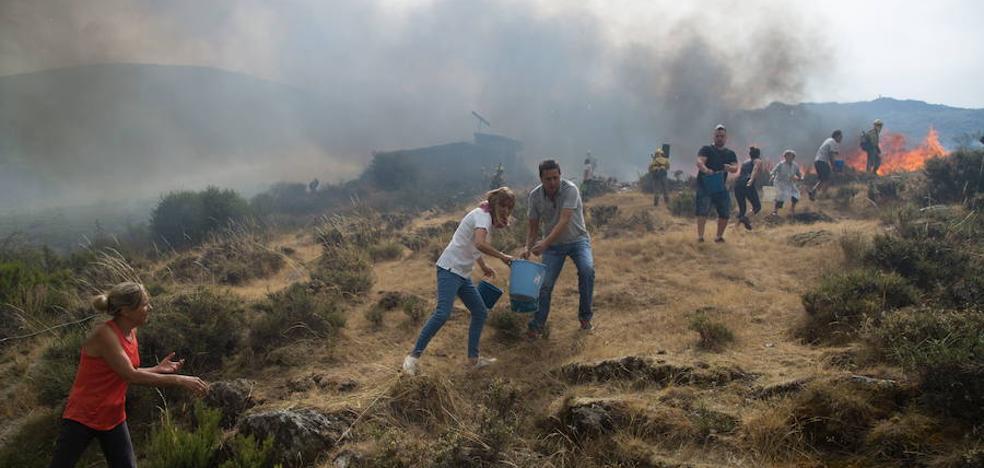 León y Zamora, entre las provincias más afectadas por los incendios en 2017