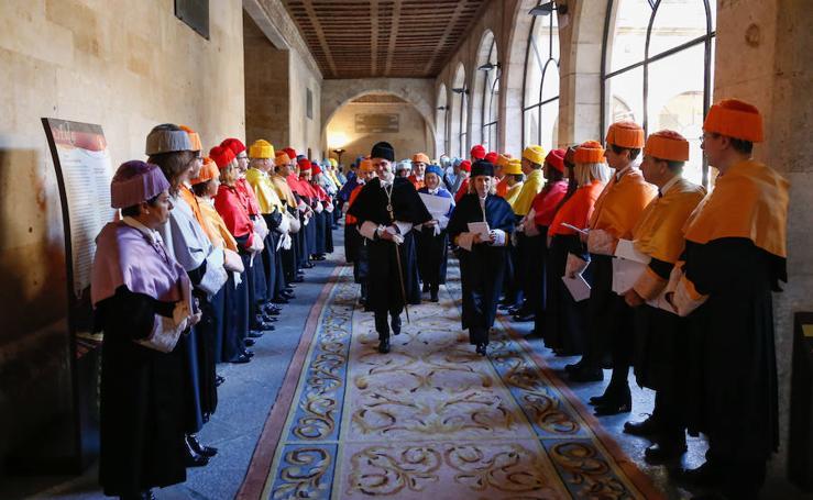 Fiesta de Santo Tomás de Aquino en la Universidad de Salamanca