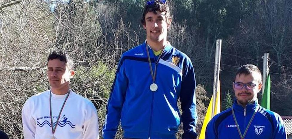 Primer oro de la temporada de piragüismo para David Burgos
