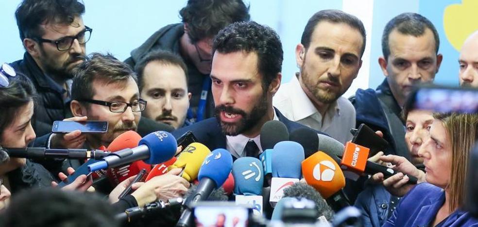 ERC se debate entre mantener su pacto con Puigdemont o dejarle caer