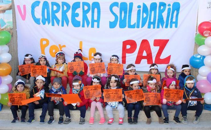 El Día de la Paz en otros colegios de la capital y de la provincia