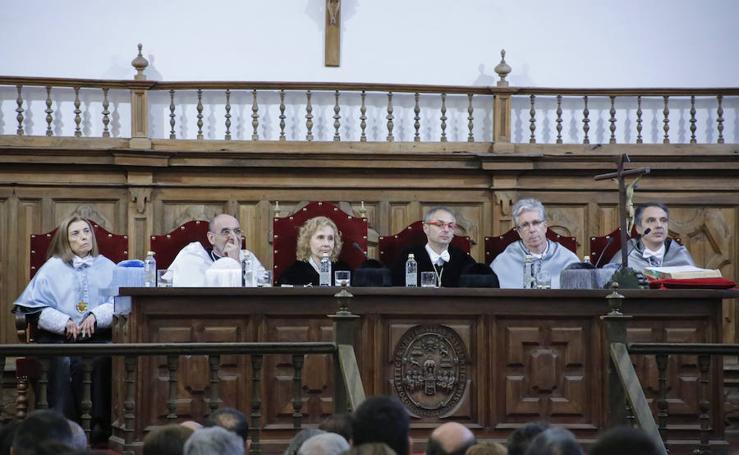 Festividad de Santo Tomás de Aquino en la Universidad Pontificia de Salamanca