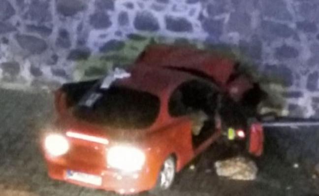 Seis detenidos por el altercado que acabó con un coche empotrado en un monasterio
