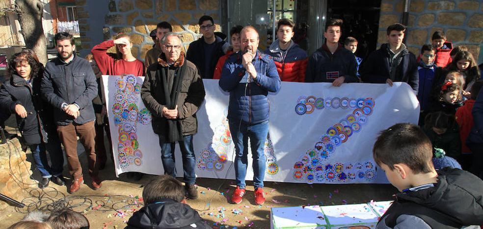 Los escolares claman por la paz