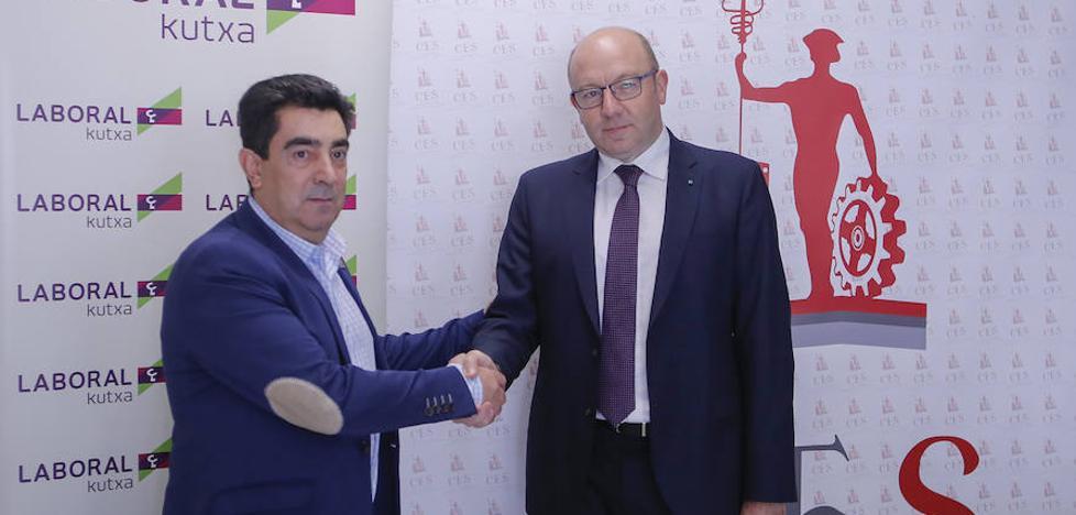 Laboral Kutxa facilitará la financiación a los asociados de la Confederación de Empresarios