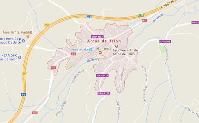 Detenido por robar la mercancía de un camión en Arcos de Jalón