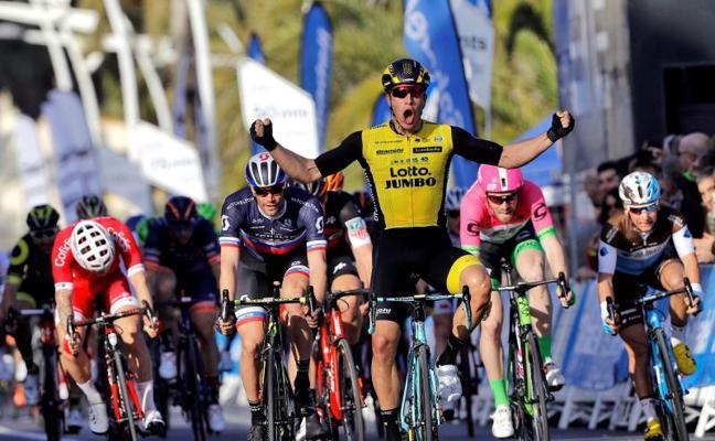 Van Poppel gana la primera etapa al esprint