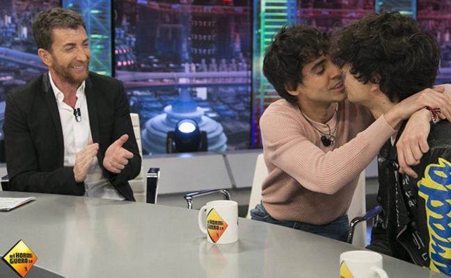 'Los Javis' muestran, en 'El Hormiguero', el momento tan feliz que viven juntos