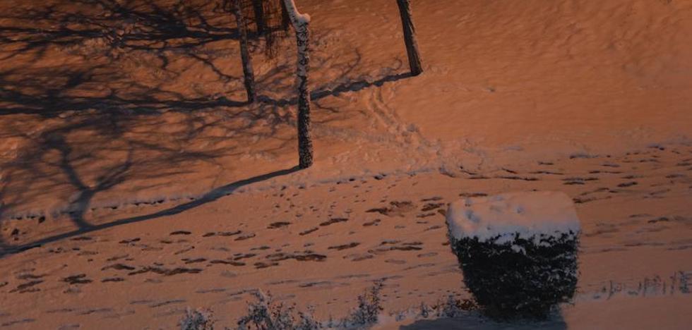 Decretado el nivel rojo por nieve en varias carreteras del norte de Palencia
