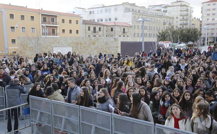 El Fenómeno Operación Triunfo arrasa en Salamanca