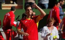 Albert Ramos se hace con el primer punto para España