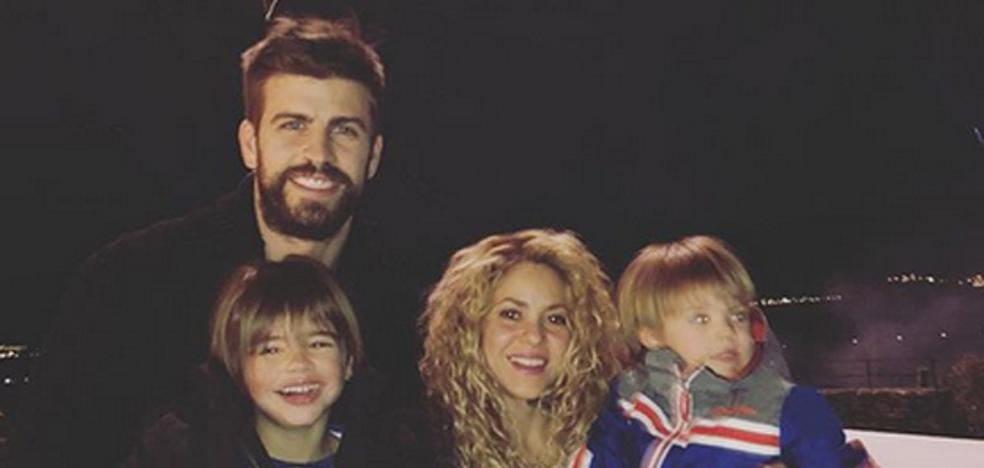 La familia Piqué-Mebarak, de celebración por partida doble