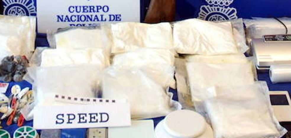 Tres detenidos en Valladolid tras una operación antidroga con más de 10 kilos de speed incautados