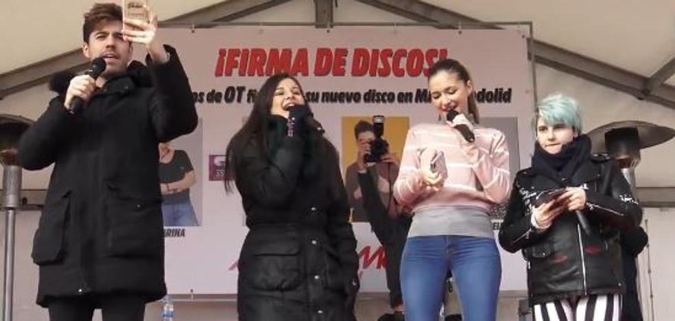Los triunfitos desatan la locura en Valladolid