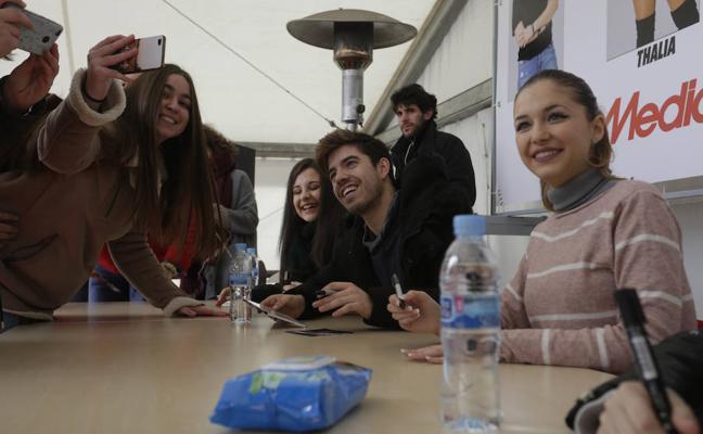 Valladolid canta el cumpleaños feliz a Noemí Galera, directora de la academia de OT