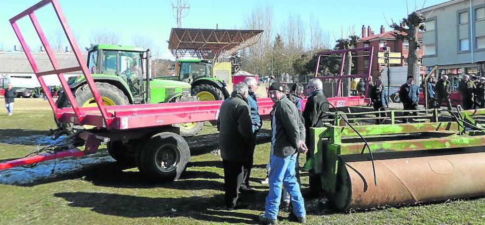 La Feria de las Candelas lleva las novedades del campo a Saldaña