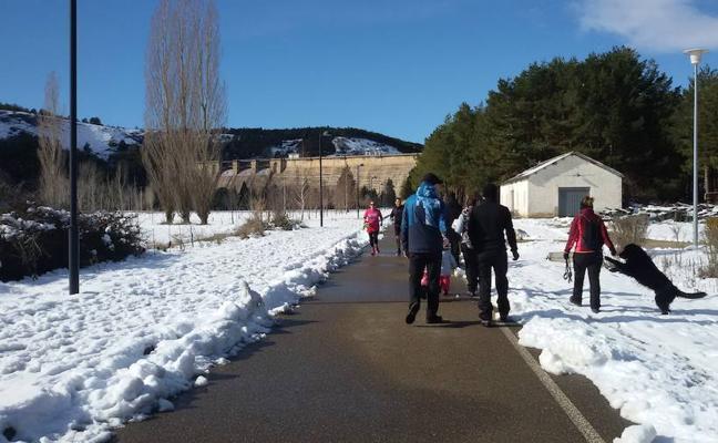 La nieve impide a 104 alumnos de Palencia asistir a clase
