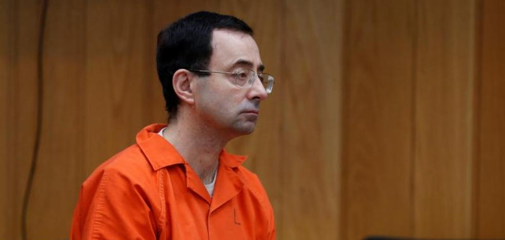 El doctor Nassar, condenado a otra pena de hasta 125 años de cárcel