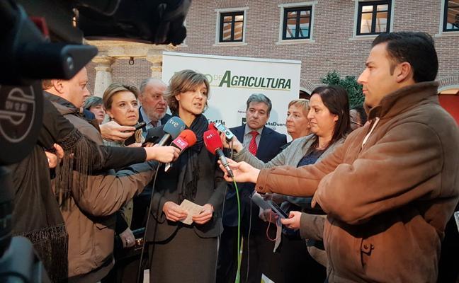 La ministra de Agricultura, en el Foro Agrario de El Norte