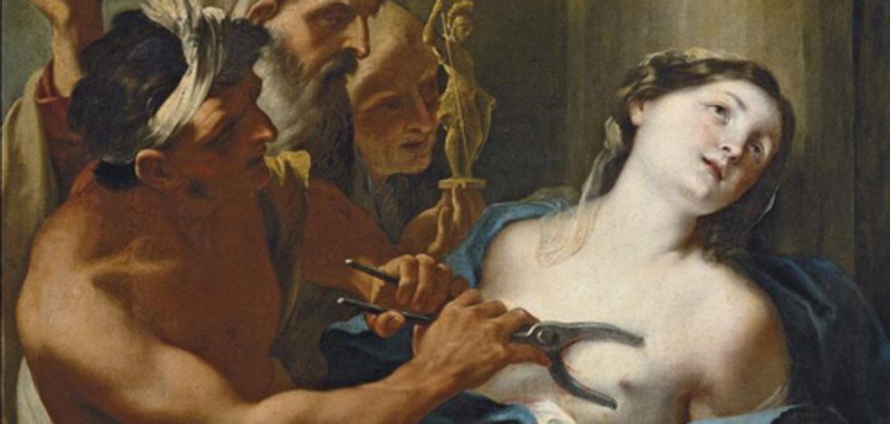 Esta es la historia de Santa Águeda, una virgen siciliana torturada por despecho